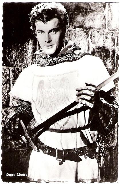 Roger Moore in Ivanhoe