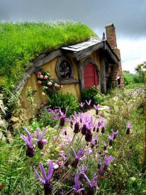 Hobbit House In Rotorua, New Zealand :)