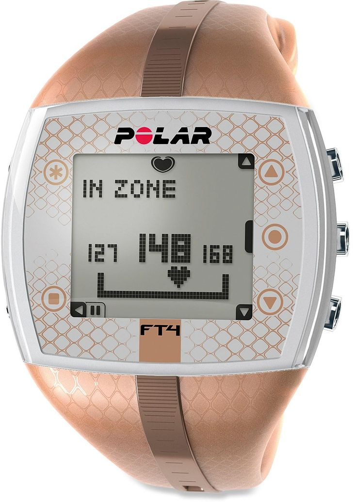Easy to use and comfortable to wear, the Polar FT4 heart rate monitor for women will help you improve your fitness level. #REIGifts