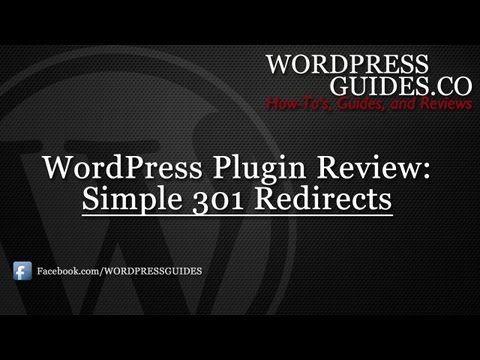 Simple 301 Redirects WordPress Plugin Review - https://www.bestfreewordpressplugins.com/simple-301-redirects-wordpress-plugin-review/