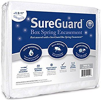 Amazon Com Twin Xl 13 16 In Deep Sureguard Mattress