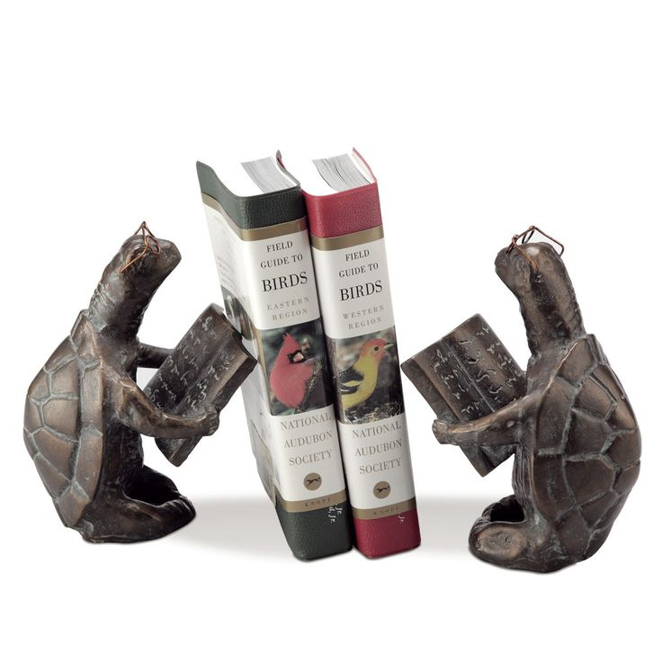 SPI Home Scholarly Turtle Book Ends & Reviews | Wayfair