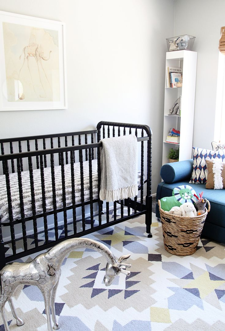 7 Things Every Nursery Should Have | Rue featuring Rugs USA's Radiante BC68 rug!