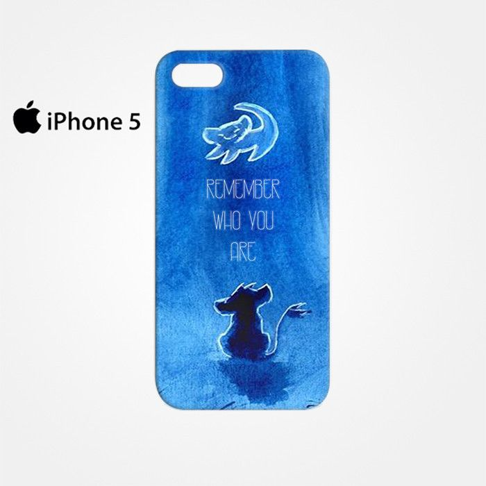 The Lion King Movie, Simba, Remember Who You Are Hakuna Matata for Iphone 4/4S Iphone 5/5S/5C Iphone 6/6S/6S Plus/6 Plus 3D Phone case