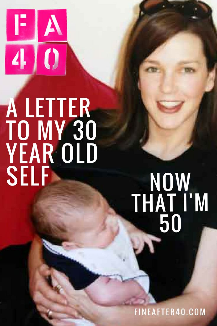 I wrote a letter to my 30 year old self... Now that I'm 50 what have I learnt since that pivotal age?
