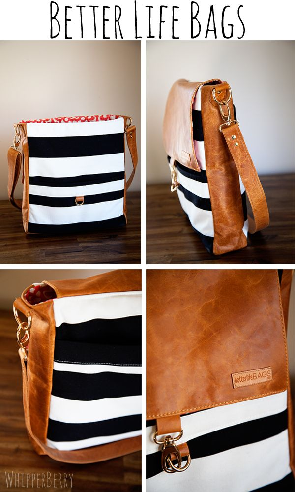 Want!!! Better Life Bags: great cause helping American women in Detroit provide for their families.