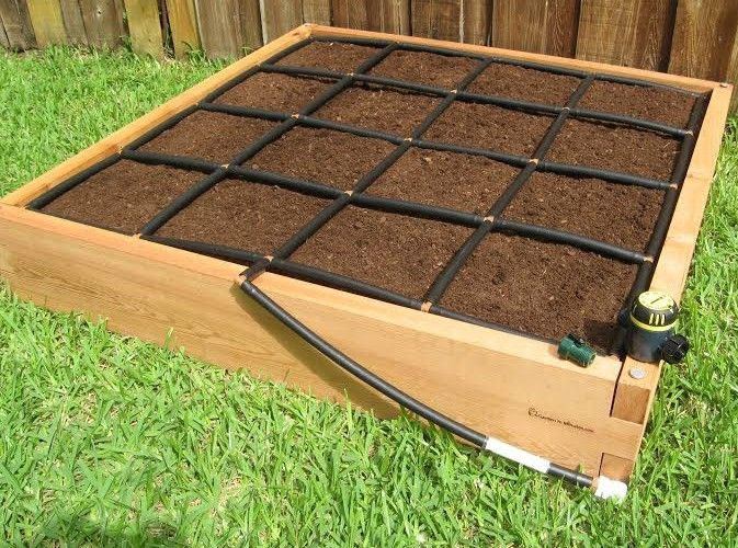 Lovely All In One, 4×4 Raised Garden Kit W/ Its Own