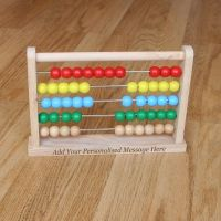5 Stars for this personalised abacus! Great gift!