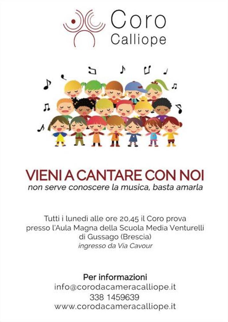 Il coro Calliope cerca nuove voci - http://www.gussagonews.it/coro-calliope-cerca-nuove-voci-ottobre-2017/