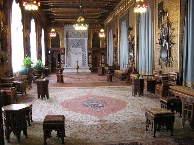 Castello di Peles - Romania. Gli Interni del Castello. Inside of Castle Peles - Romania