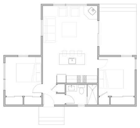 143 Best Images About Tiny House Floor Plans On Pinterest