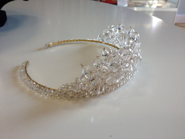 A lovely tiara for a bride. You can make it for under £15!  http://www.thebead.co.uk/index.html
