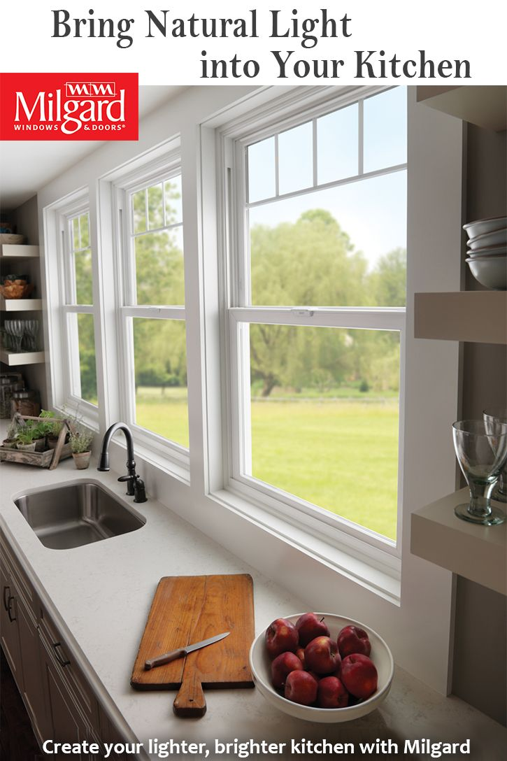 Bring natural light into your kitchen with