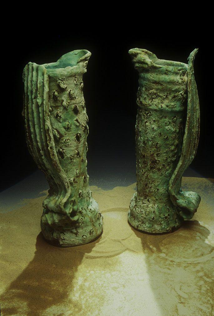 Jug-Forms-stoneware-1993 aki moriuchi