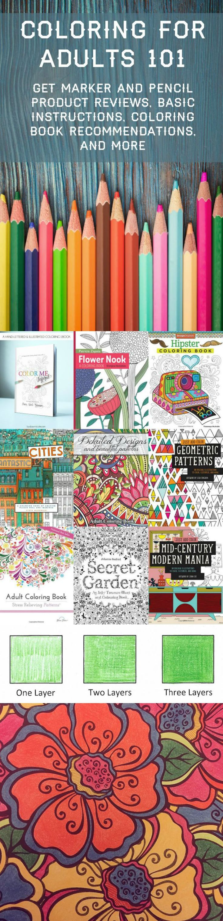 Coloring book pages pinterest - Coloring For Adults 101 Your Complete Guide