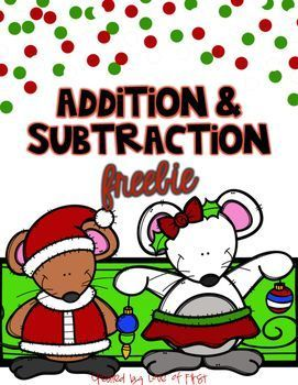 1000+ ideas about Addition And Subtraction Practice on Pinterest ...