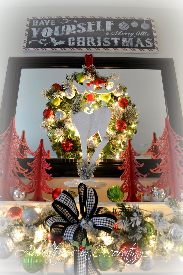 Ideas For Christmas Decorations 2014 345 best christmas decorating ideas images on pinterest