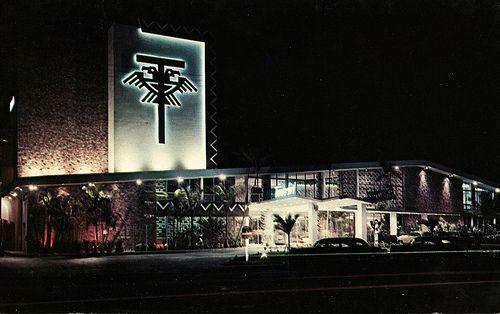 Thunderbird Motel, Miami Beach, Florida