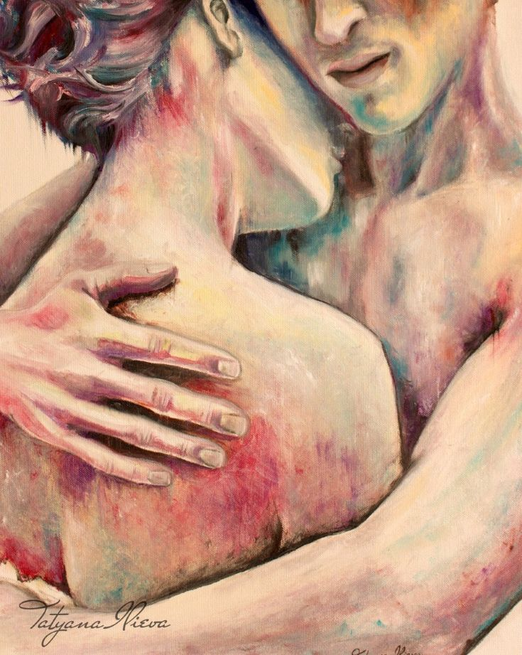 Love's tender embrace - art byTatyana Ilieva