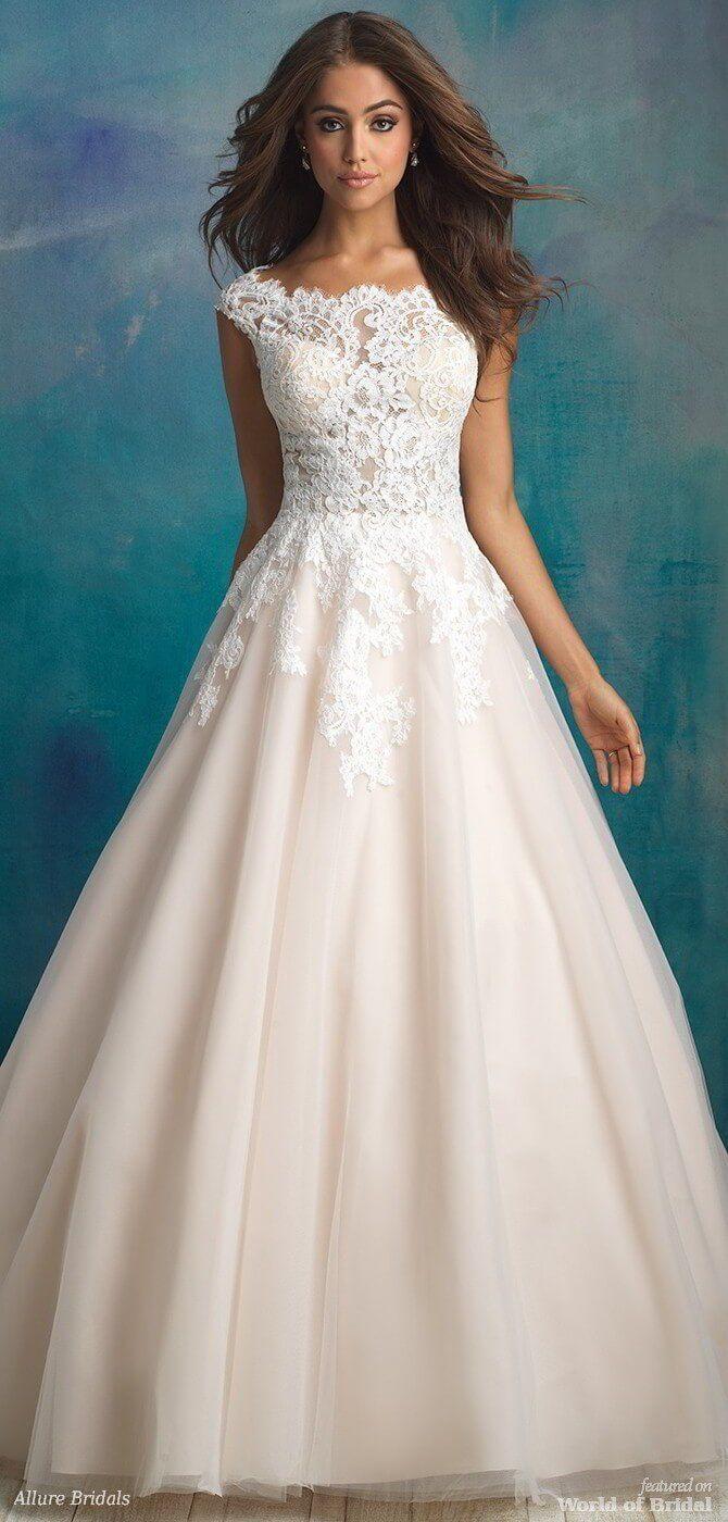 Allure Bridals Spring 2018 Bridal Gowns