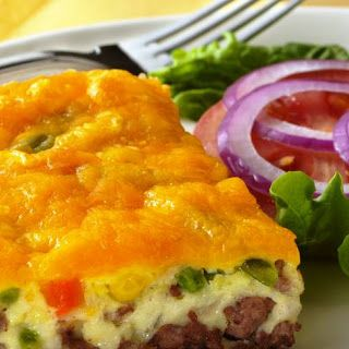 Impossibly Easy Cheeseburger Pie (Crowd Size).