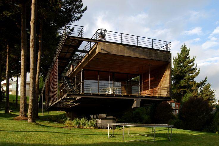 Plataforma en Viaje: Casa Reutter, Mathias Klotz,