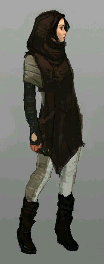 Character Concept: Running Uniform