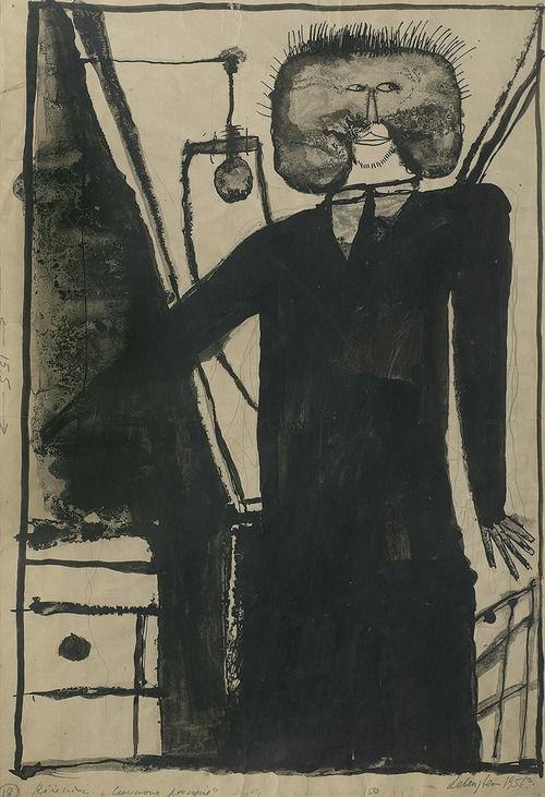 Jan Lebenstein (Poland, 1930 - 1999) •●