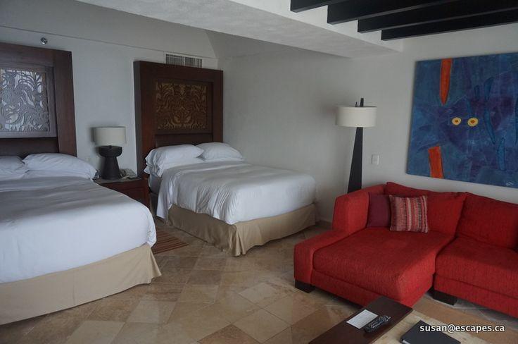 Hyatt Ziva Vallarta.Rooms in the Preferred Club, rooms with upgraded amenities