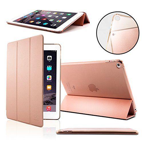Coque iPad Air 2 - SAVFY Housse de Protection pour Apple iPad Air 2 Etui en PU Cuir Magnétique + FILM D'ECRAN avec Rabat/Stand de Positionnement Support et la Fonction Sommeil/Réveil Automatique - Rose Gold #Coque #iPad #SAVFY #Housse #Protection #pour #Apple #Etui #Cuir #Magnétique #FILM #D'ECRAN #avec #Rabat/Stand #Positionnement #Support #Fonction #Sommeil/Réveil #Automatique #Rose #Gold