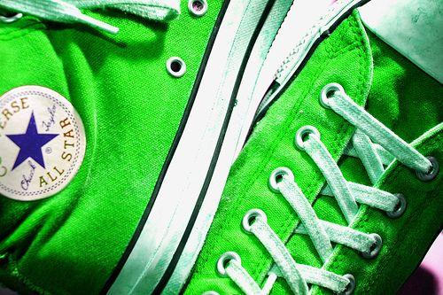 Neon Green Chucks