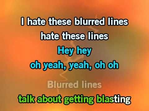 Robin Thicke Blurred Lines Karaoke - ExssBox - Music - Видео Каталог