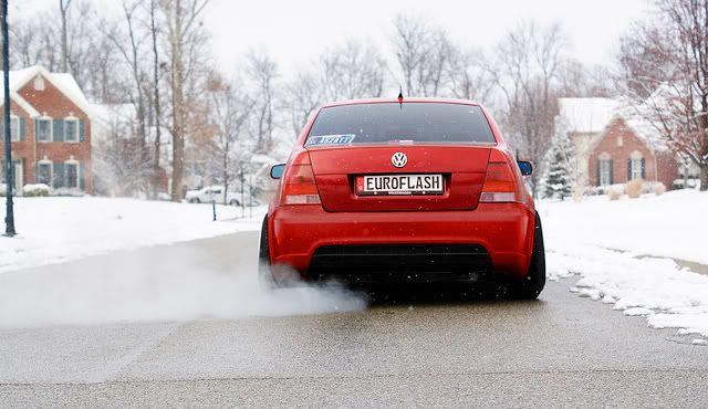 VW Jetta MKIV/MK4: type R: winter progress  Volkswagen Bora