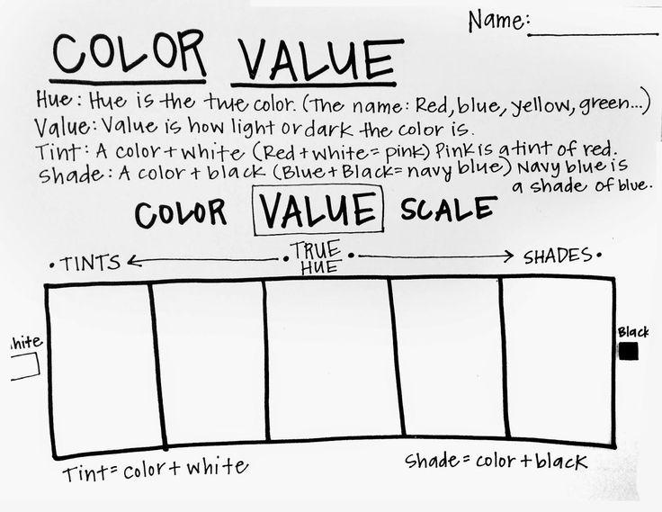 color wheel worksheet for middle school color best free printable worksheets. Black Bedroom Furniture Sets. Home Design Ideas
