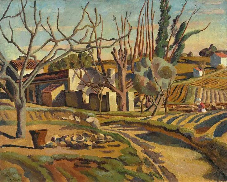 Дункан Грант на юге Франции 1922