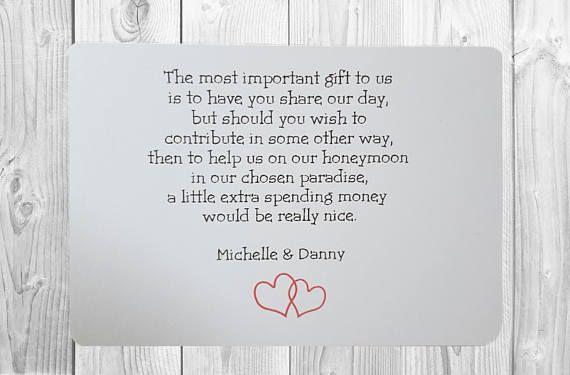 Wedding Gift Poems For Money: Best 25+ Wedding Gift Poem Ideas On Pinterest