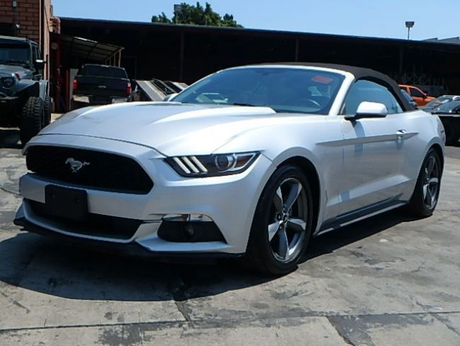 nice 2016 Ford Mustang V6 Convertible 2016 Ford Mustang Convertible Wrecked Rebuilder Perfect Summer Vehicle Must See!
