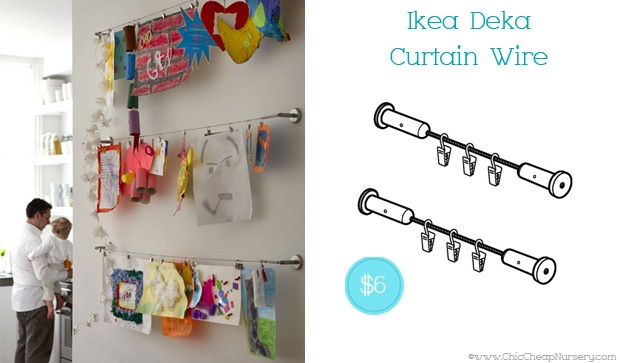 7 Inspiring Kid Room Color Options For Your Little Ones: Best 25+ Curtain Wire Ideas On Pinterest