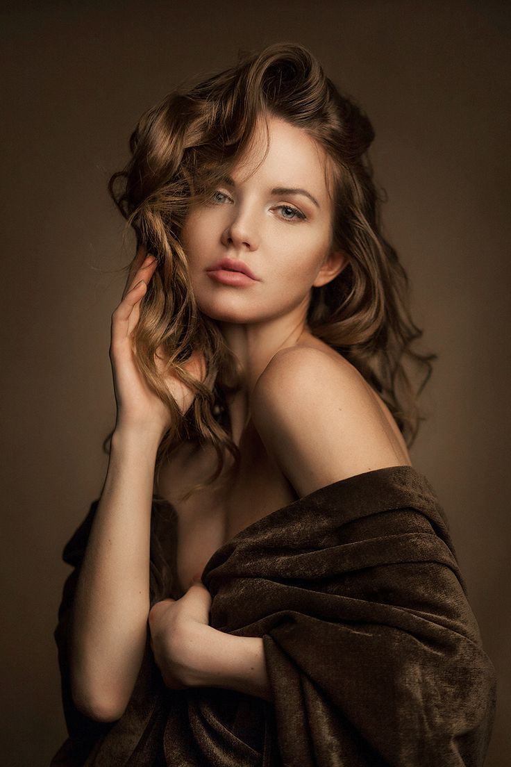 Warm portrait by Alexander Schlesinger on 500px,Model Kristina Yakimova