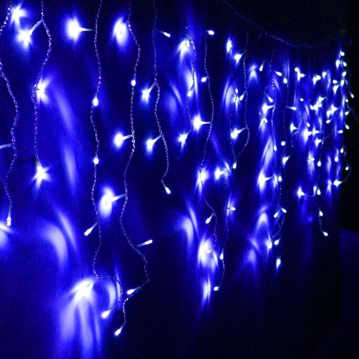 11ft extendable led icicle string lights for christmas holiday wedding party event - Light For Christmas