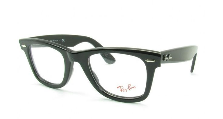08b5a64e5eb Ray Ban Rx5121 Black 2000 50mm Wayfarer Eyeglasses « Heritage Malta
