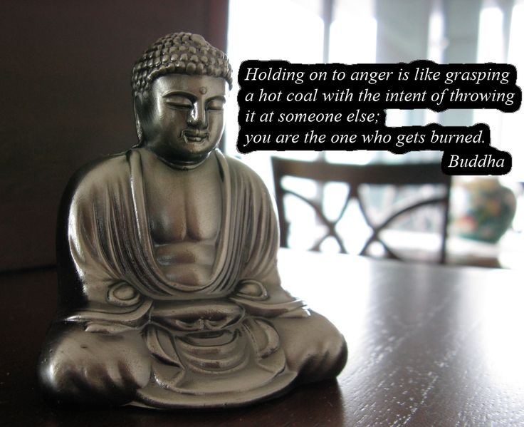 """""""Holding on to anger is like grasping a hot coal with the intent of throwing it at someone else; you are the one who gets burned."""" -Buddha peace and love quotes from Joshuakeith.net."""