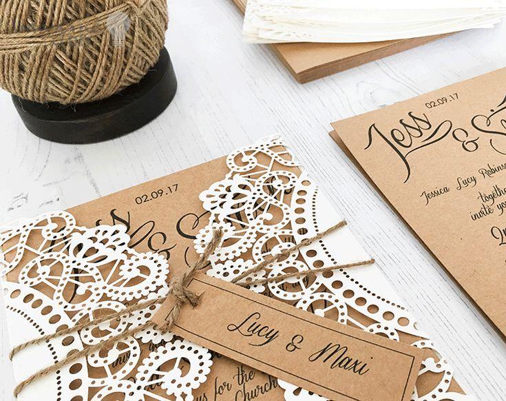 Cheap Laser Cut Wedding Invitations Uk: Best 25+ Blank Wedding Invitations Ideas On Pinterest