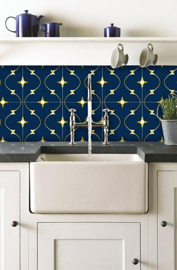 Wall Tile Decals Pack Of 12 For Kitchen Bathroom Backsplash