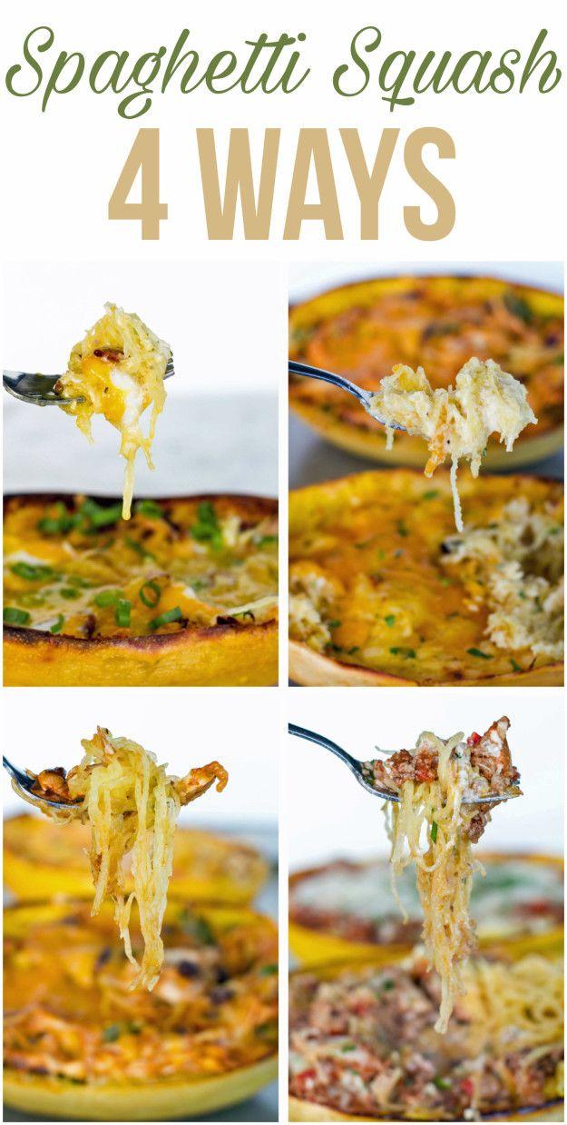 Spaghetti Squash Four Ways   Here's Four Ways To Make Spaghetti Squash For Your Next Dinner