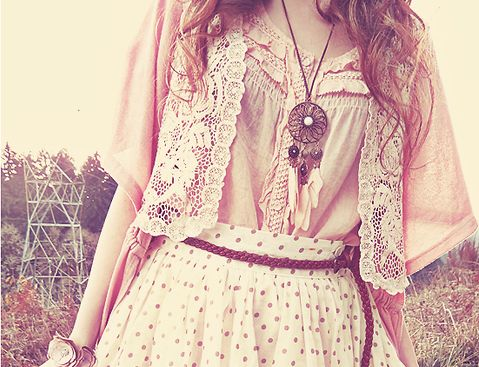 : Bohemian Styles, Fashion, Summer Outfit, Clothing, Polka Dots Skirts, Dresses, Boho, Closet, Wear