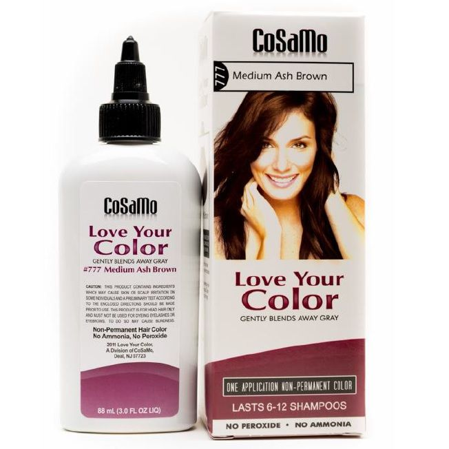 Love Your Color No Ammonia No Peroxide Hair Color Black 3 ...