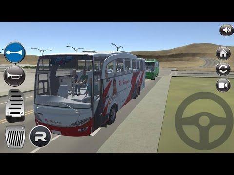 IDBS Bus Simulator Indonesia, TRACK 3- Permainan simulator bus 3d indone...