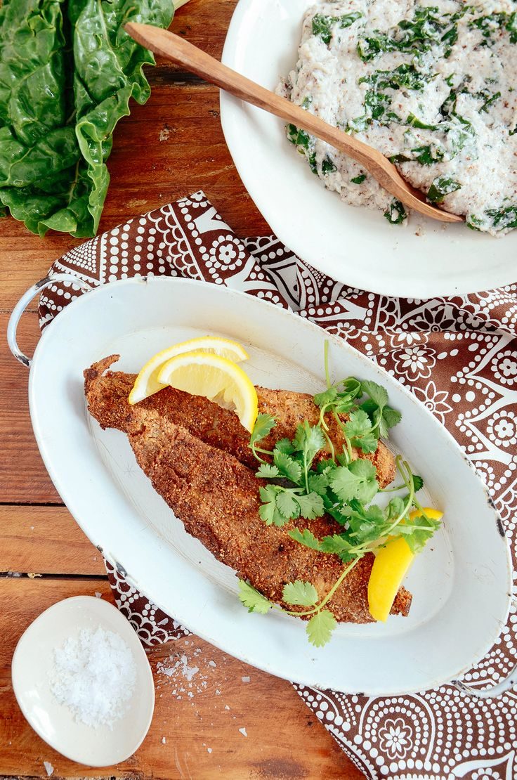 Crispy batter just like your mom made it. HEBA crumbed fish is oh-so-good and oh-so-low carb! Recipe: bit.ly/BantingBlvdBlog