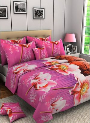 Bed Sheets Online India - Buy Designer Bedsheets, Cotton Bed Sheets at Best Prices